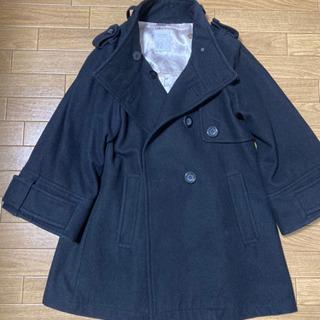 PAGE BOY 七分袖黒のコート Mサイズ