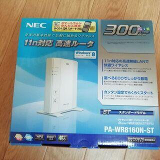 NEC 11n b g 24Hz ルーター 300mbps