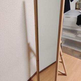 無印良品 鏡(パイン材)
