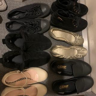 靴/スニーカー/レディース/23〜23.5cm/使用感あり/10足ほど