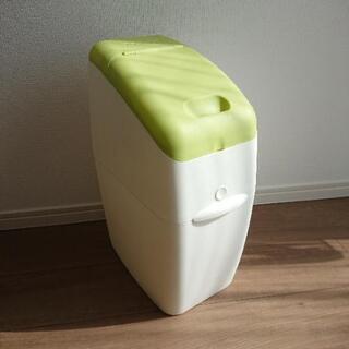 (中古)アップリカ におわなくてポイ 紙おむつ用ゴミ箱