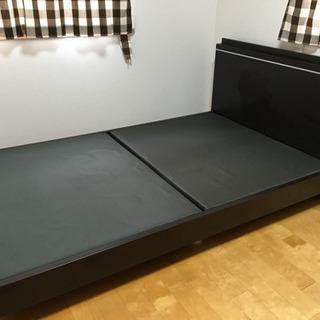 ベッド枠のみ セミダブルサイズ