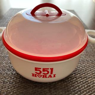 551蓬莱 レンジ用スチーマーの画像