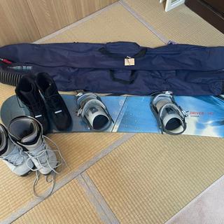 スノーボードセット140 ビンディング付ボード&ブーツ&バッグ