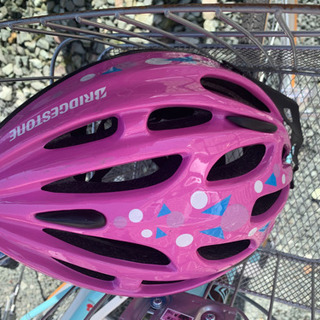 24インチ 自転車  ヘルメット付き - 売ります・あげます