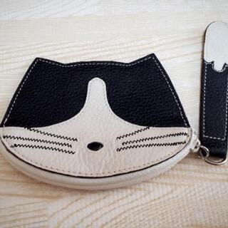 【未使用❣】ネコ型小銭入れ コインケース 黒猫ねこ