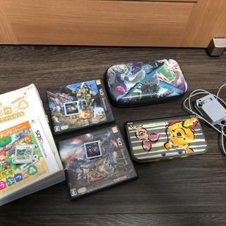 【本日手渡し可能】Newニンテンドー3DSLL本体+ゲーム3本セット