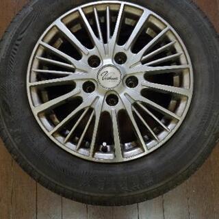 タイヤホイール4本セット195-65-15