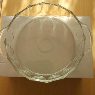 パイレックス 耐熱皿 耐熱ガラス 直径21㌢