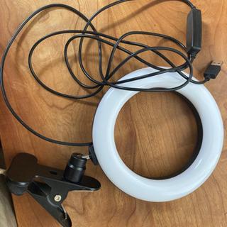 【お譲り先決定】LEDリングライト ELEAANT 6.3…