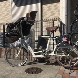 自転車 前後チャイルドシート 付き 訳あり!