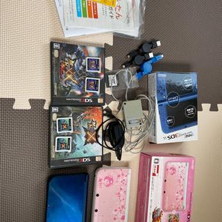 3DS LLとモンハンXXのセット(モンハンX付き)