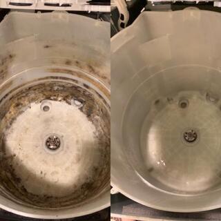 【洗浄】洗濯機クリーニング
