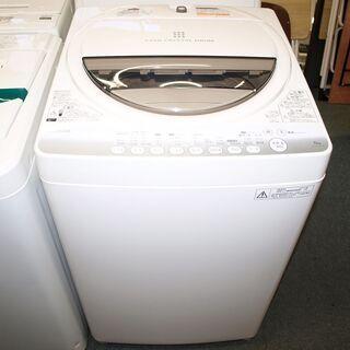 全自動洗濯機 6K 東芝 AW-60GM(W) 2014年…