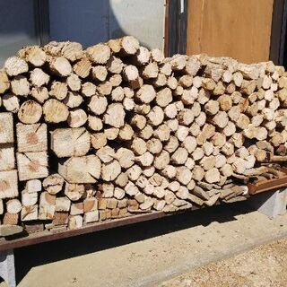 薪材 廃材 差し上げます。焚火や薪ストーブ等に。