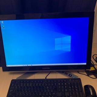 【動作正常◎】一体型デスクトップパソコン TOSHIBA dyn...