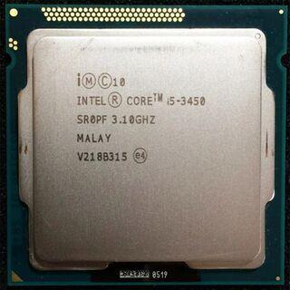 CPU売ります( Intel i5 3450 3.10 GHz)