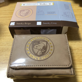 SNOOPYの二つ折り財布