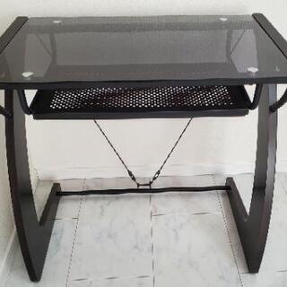 テーブル(黒) パソコンデスク