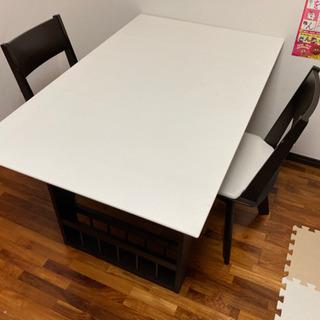 ニトリ バタフライ(伸長式)ダイニングテーブルセット