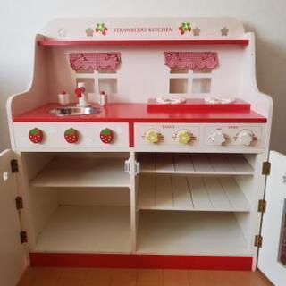 木製オモチャのキッチン