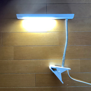 LED stand 白