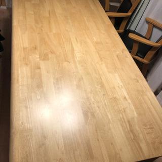 ダイニングテーブル180センチ 値下げしました。