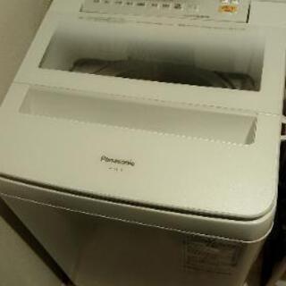 【 再値下げ】2017年 Panasonic 洗濯機 8kg