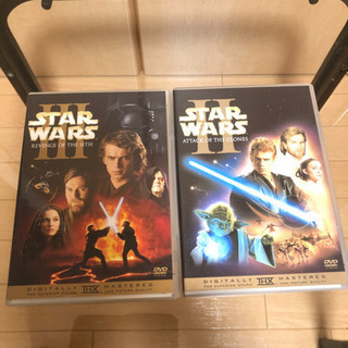 中古DVD スターウォーズ2 スターウォーズ3