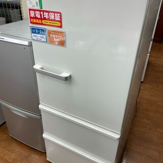 アクア 3ドア冷蔵庫 272L 2018年製 AQR-27G
