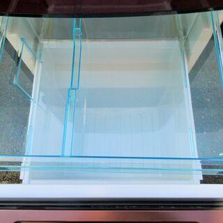 ☆ユーイング U-ING 森田電工 MORITA UR-F123K 123L 2ドアノンフロン冷凍冷蔵庫◆2018年製・お洒落なざくろレッド - 売ります・あげます