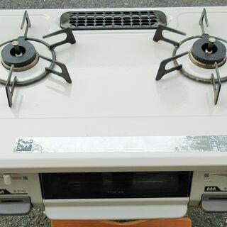 ☆Rinnai リンナイ KGM64BER RT64JH-R 都市ガス用ガステーブル◆2016年製・安心安全のSiセンサーの画像
