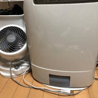 除湿乾燥機 サーキュレーター 部屋干しお助けセット