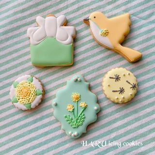 【日程変更】たんぽぽアイシングクッキーレッスン