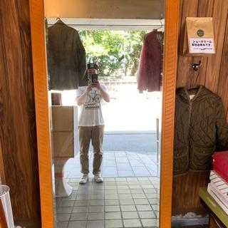 壁掛け ミラー 鏡 スタンドミラー 大型 姿見  店舗用でも