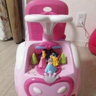 ディズニープリンセス  幼児用 車 無料で差し上げます