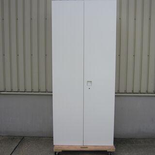 両開き書庫 オカムラ製レクトライン ホワイト 4H318F ZA75