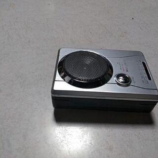 オーム電機 AM/FM ラジオカセットレコーダー(中古)