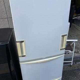 SHARP3ドア冷蔵庫 両開き