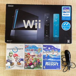 商談中》》Wii 本体セット+ソフト3本 バラ売り不可
