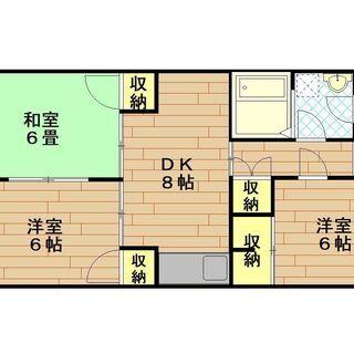 ファミリーに人気の高宮エリア★大通り沿いに建つ3DKのマンションです♪