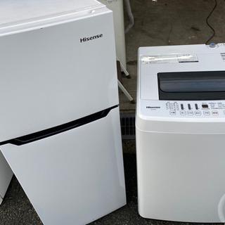 生活応援セット Hisense冷蔵庫 洗濯機