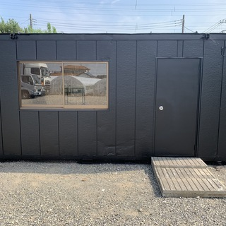 プレハブ ユニットハウス  塗装 補修 買取