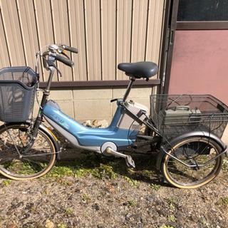 【週末最終値下げ】電動アシスト自転車【三輪】ギヤチェンジ機…