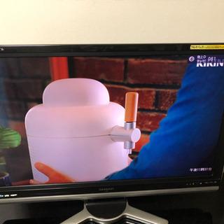 シャープAQUOSテレビ42インチとオーディオ付きテレビ台