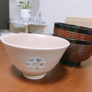(中古)茶碗、お椀 計3点