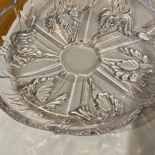【ガラスのお皿】未使用