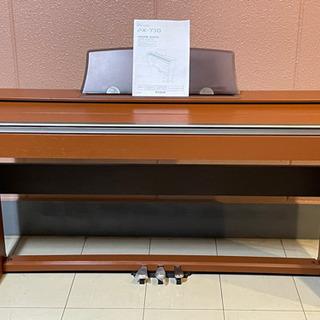 【極美品】【お届け無料有り】★電子ピアノ★CASIO PX-73...