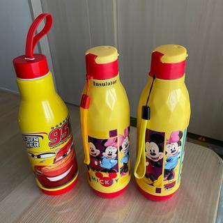 新品 ディズニー 水筒 3本セット ミッキー カーズ イエロー ...