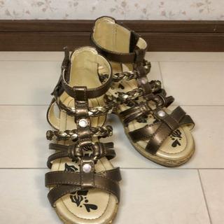 子供靴 16cm 女の子 OSHKOSH サンダル